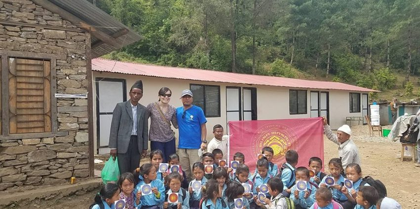 Rebuilding Suri Primary School after Nepal's 2015 Earthquake