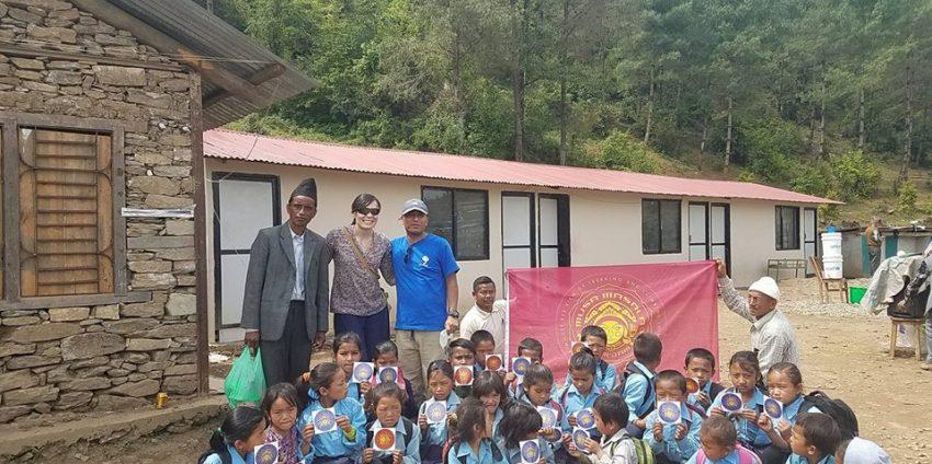 Rebuilding Suri Primary School after Nepal's 2015 Earthquake