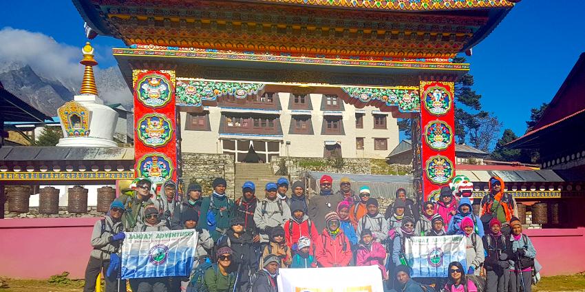 Children Trekking: A Record-Setting Trek to Everest Base Camp