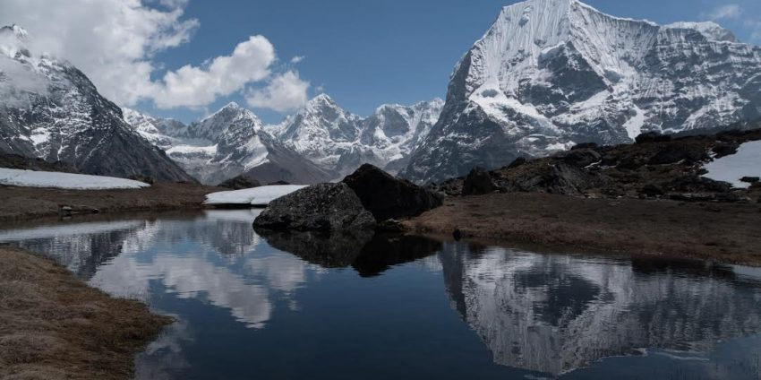 Trekking in the Rolwaling Valley, Nepal