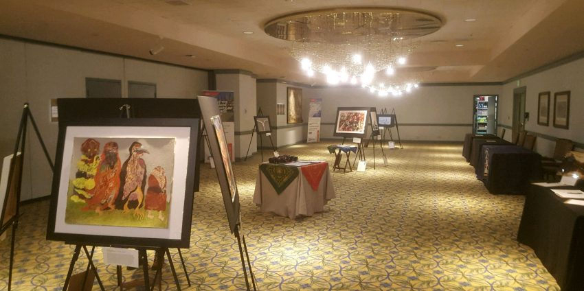 The First Musa Masala Art Sale and Silent Auction: WMS Winter Conference, Lake Tahoe