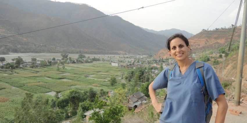 An Artist and Physician's Volunteer Work in Nepal