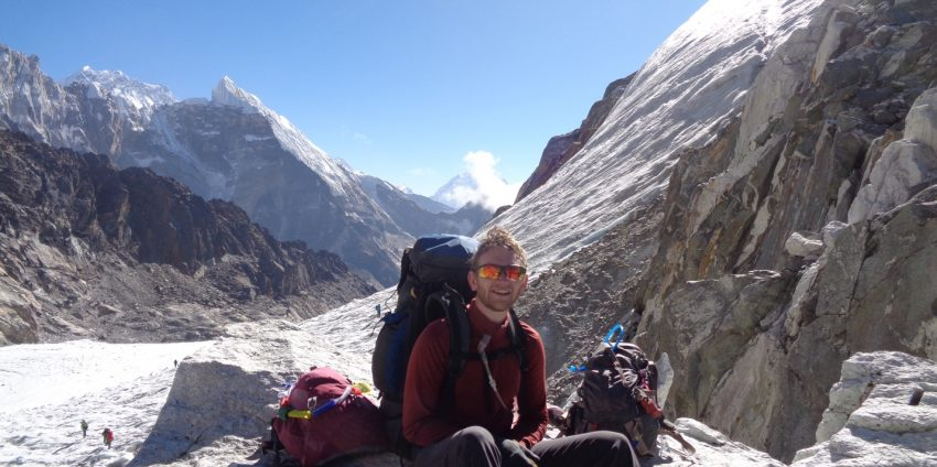 Mountain Doctor:  Brendan Milliner with the Himalayan Rescue Association at the Pheriche Clinic, Nepal