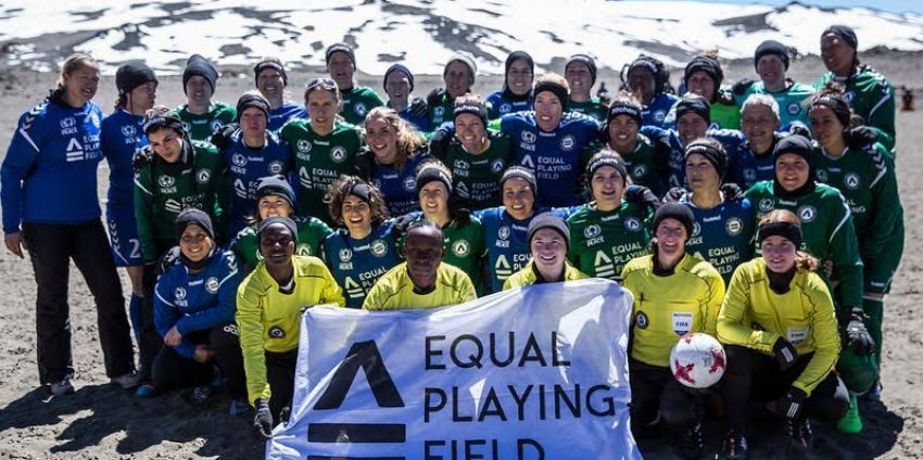 Equal Playing Field: The World's Highest Soccer Game, for Women's Equality and Empowerment