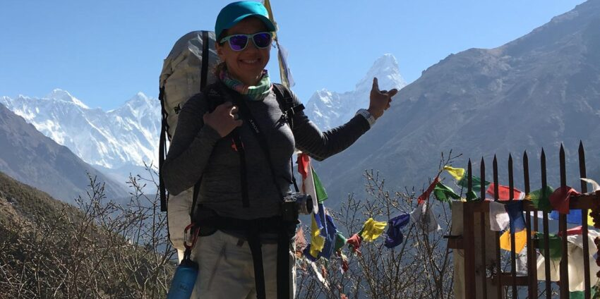 Ama Dablam, Olga and Cyclone Fani!