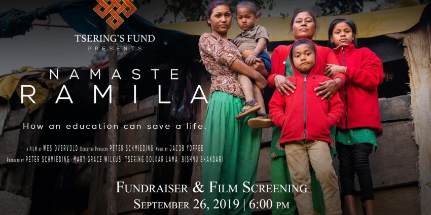 Namaste Ramila: A Tsering's Fund Update