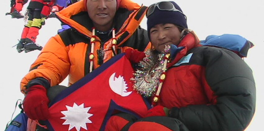 Mount Everest's First Summit Wedding! An Interview with Pem Dorjee Sherpa